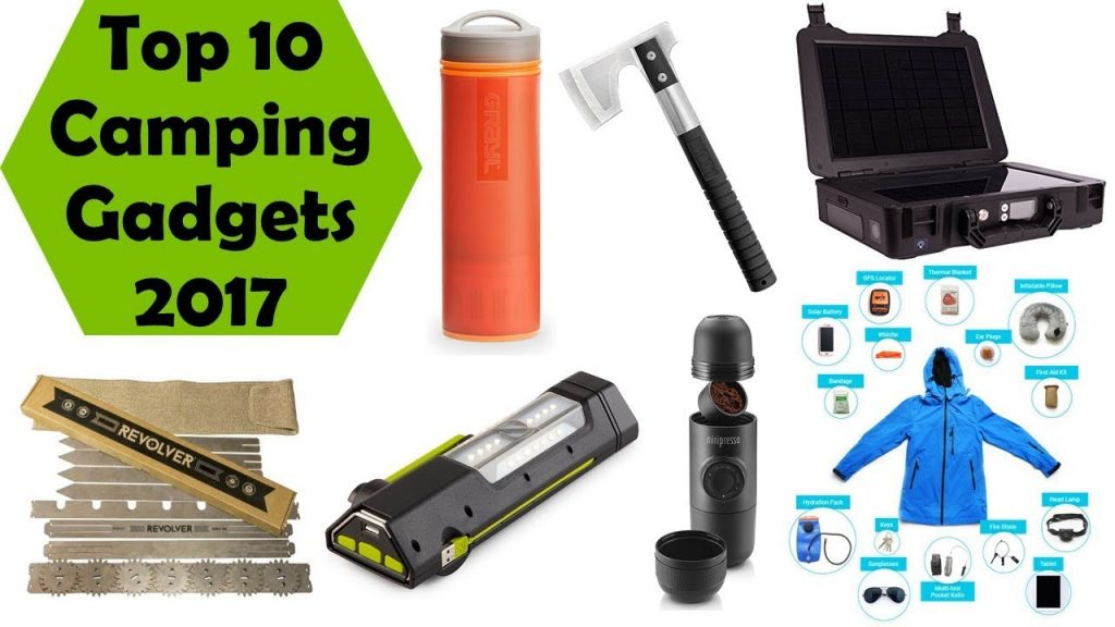 Top 10 Latest Camping Gear Inventions 2017 I Best Camping Gadgets I Part-10