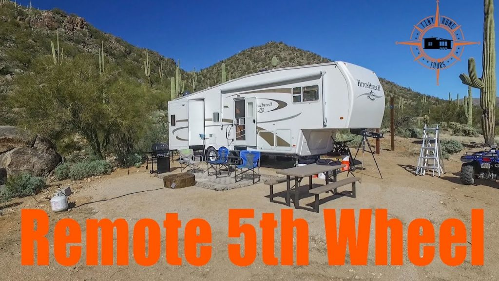 Remote Fulltime 5th Wheel Set Up ~ Full RV Tour & Mobile Income Plans