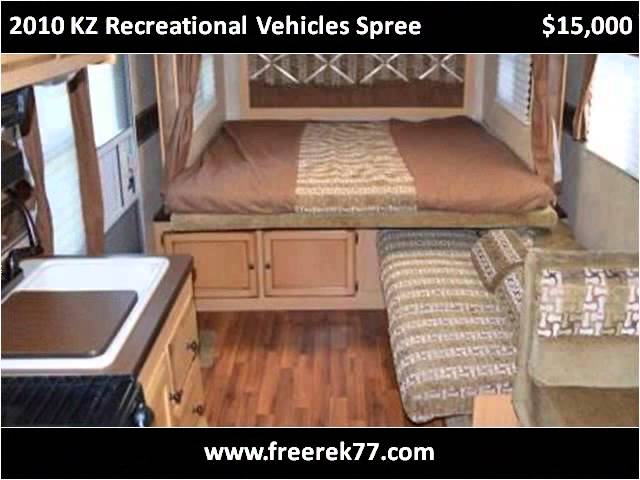 2010 KZ Recreational Vehicles Spree Used Cars Philadelphia P