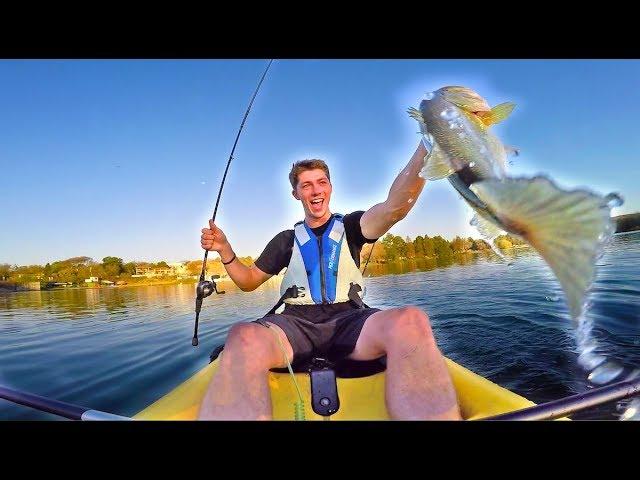 URBAN Kayak Bass Fishing In AFRICA! — (AFRICA D.6-7)