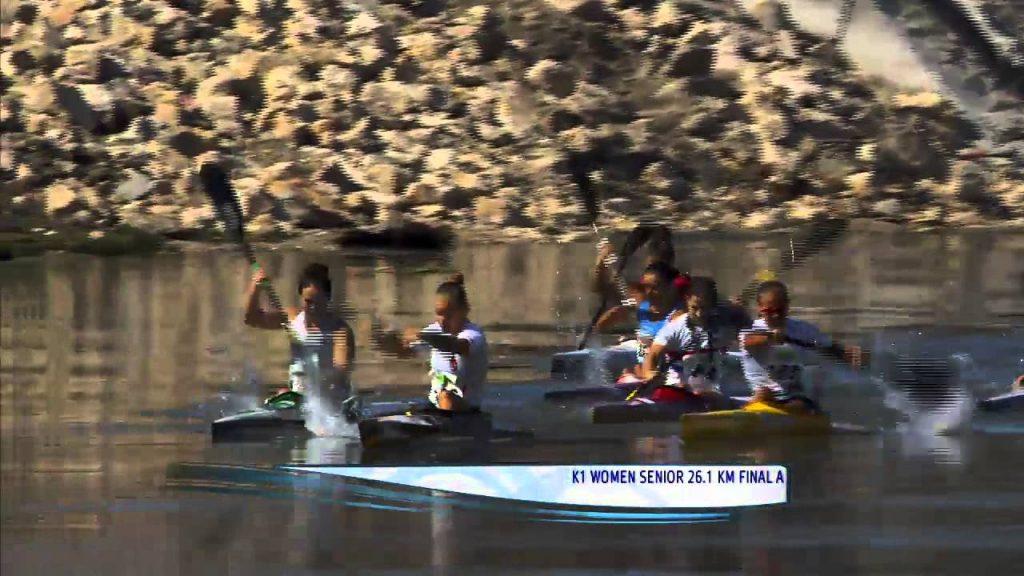 2015 ICF Canoe Marathon World Championships in Gyor, Hungary Saturday 12th