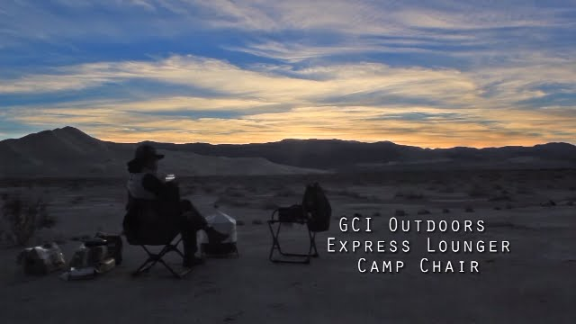GCI Outdoors Express Lounger – Camp Chair Review