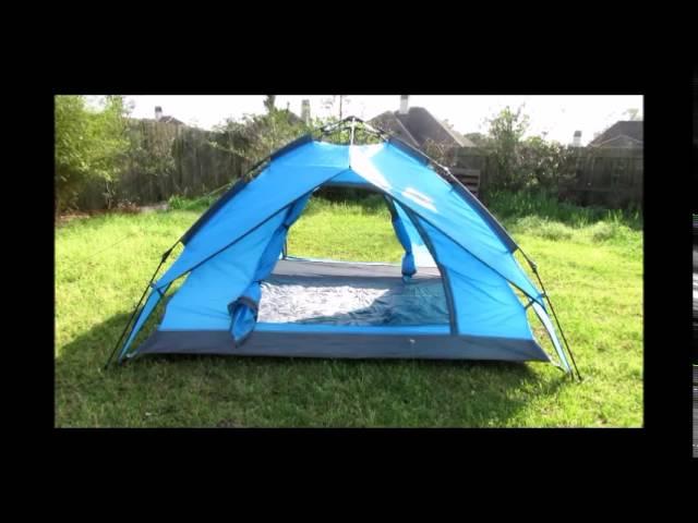 Boshen Waterproof 3 to 4 Person Self Pop Up Camping Tent