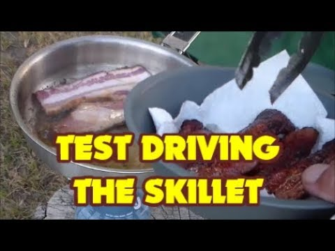 TEST DRIVING THE STANLEY BASE CAMP COOKSET SKILLET!