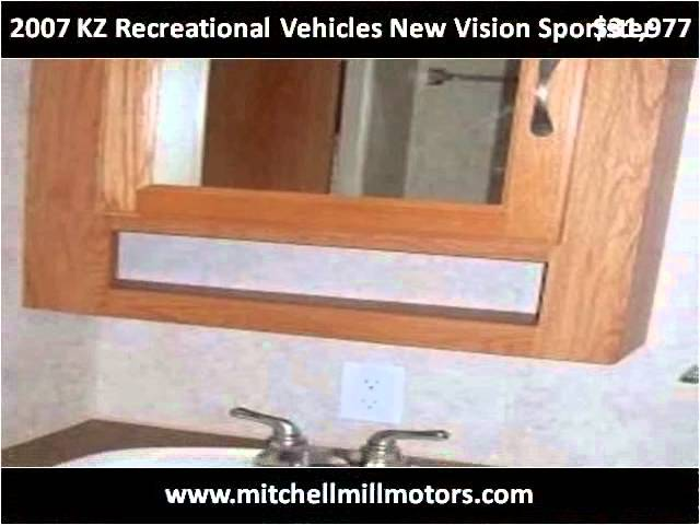 2007 KZ Recreational Vehicles New Vision Sportster Used Cars