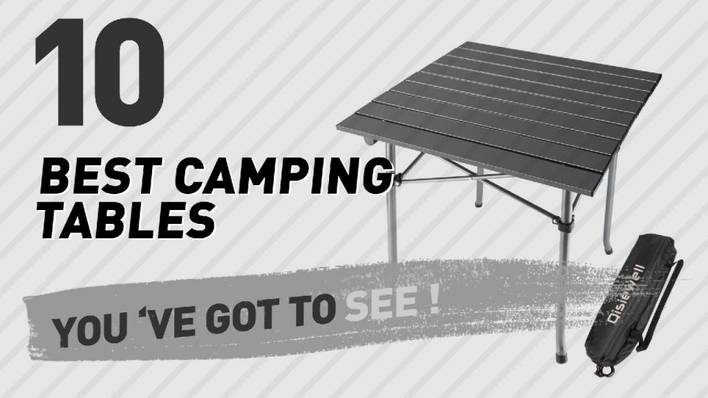 Camping Outdoor Tables, Top 10 Collection // New & Popular 2017
