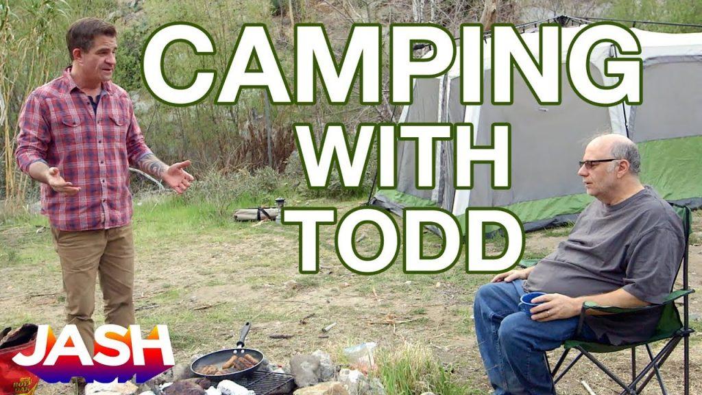 Camping With Todd starring Todd Glass, Zach Galifianakis, Eddie Pepitone & Jon Dore