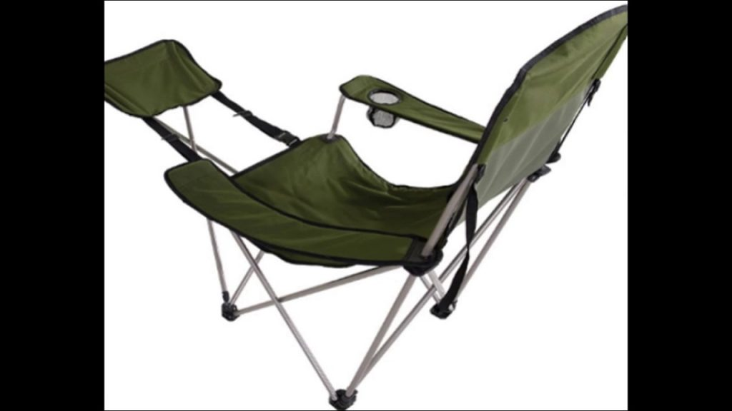 Folding Camping Chair Portable Outdoor Seat Fishing Picnic Beach Tailgate