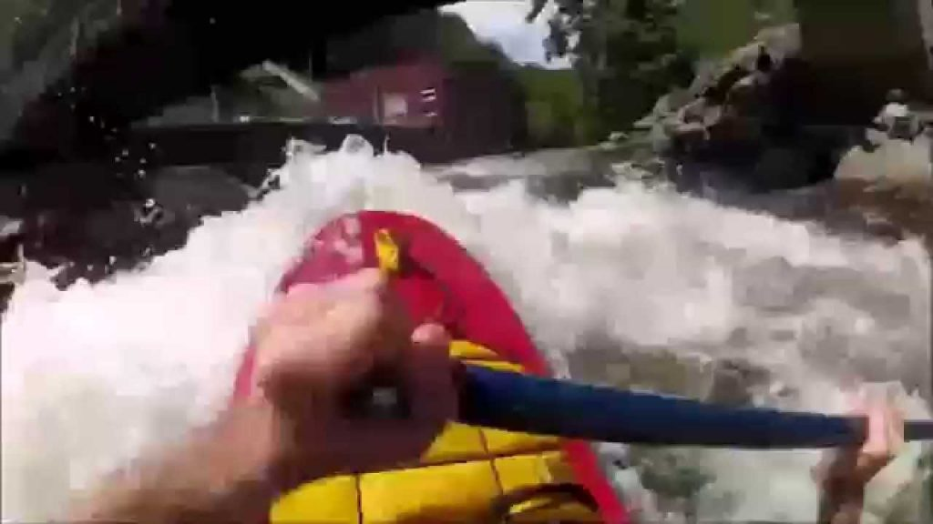 Whitewater Canoeing – My 1st YouTube Video