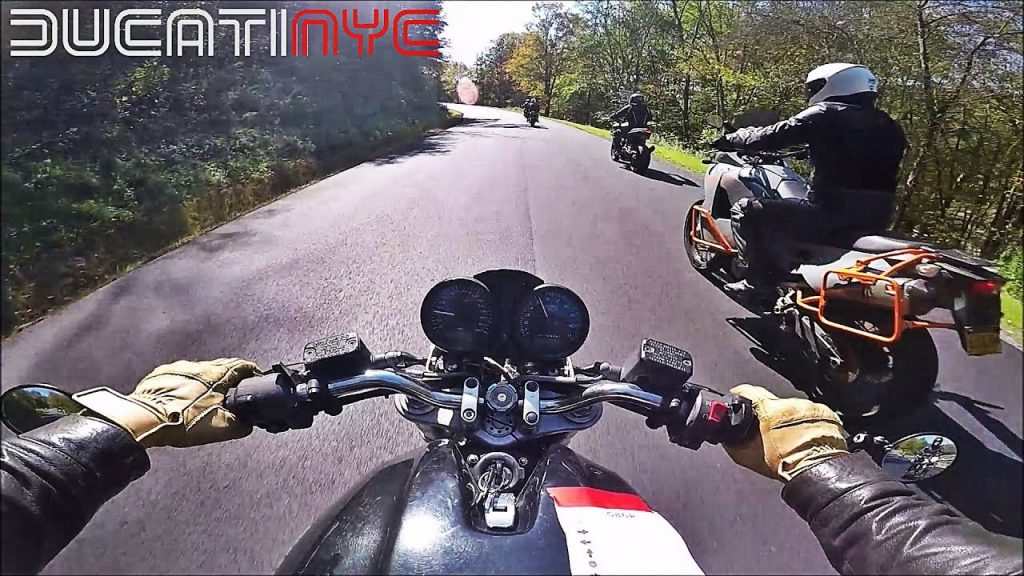 Passing EVERYONE! – #GBGR2017 MotoGP of Great Big Glamping Ride in the Catskills –  pt1 v554