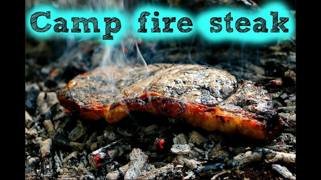 Wild Camping & Cooking On Coals