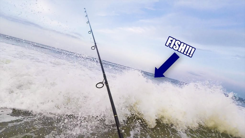 EXTREME FISHING in GIANT Swells!!