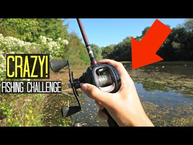 CRAZY Lure Fishing Challenge!! (ft. Kendall Gray)