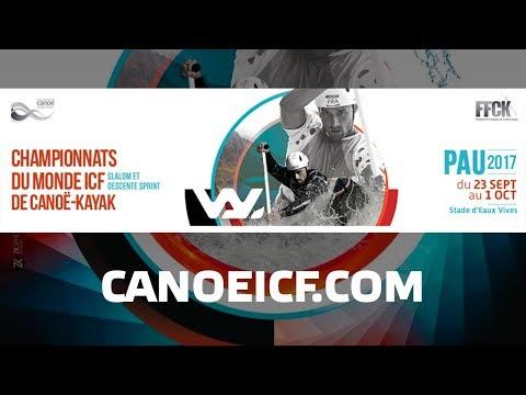#ICFslalom 2017 Canoe World Championships Pau France – Sat Slalom FINALS