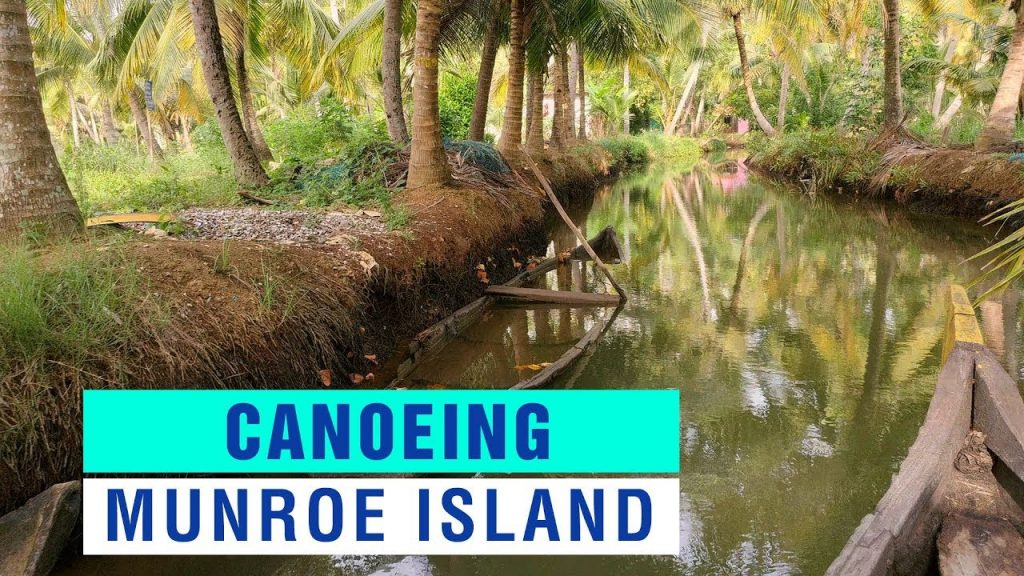 Munroe Island Kollam Video | Canoeing in Ashtamudi Lake Kollam