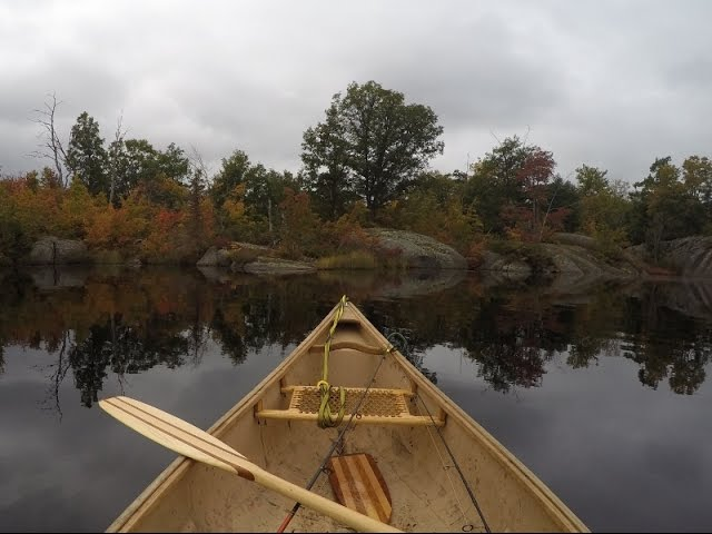 Fall Solo Canoe and Fishing Trip