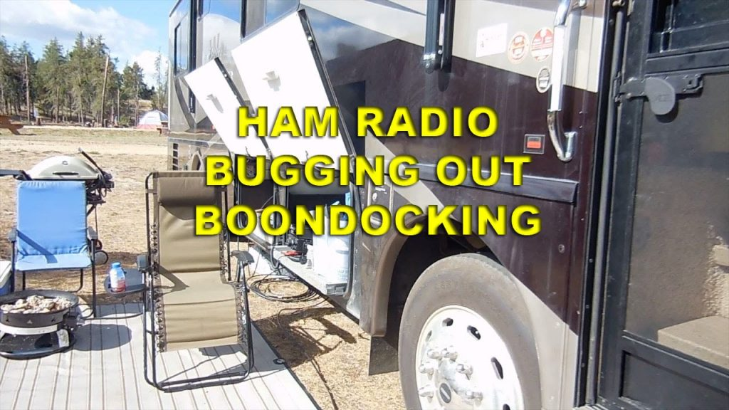 HAM RADIO RV MOTORHOME BUG OUT BOONDOCK