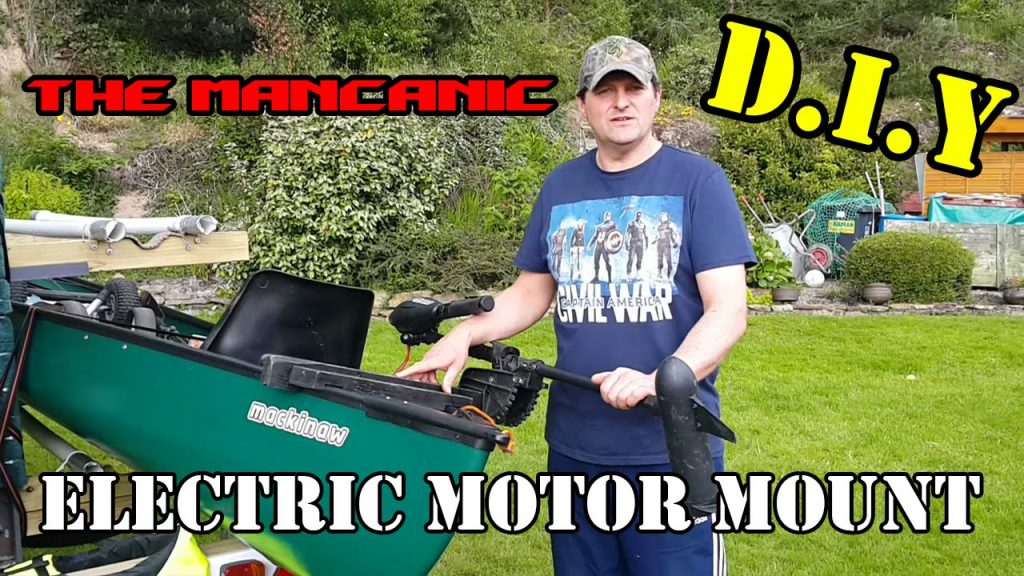 D.I.Y CANOE MOTOR MOUNT EXPLAINED