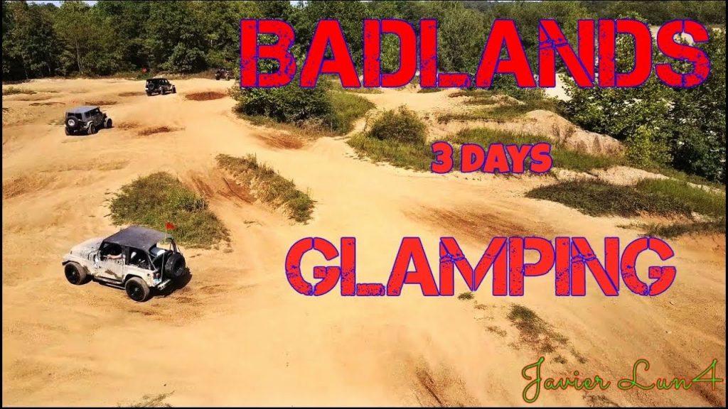 BADLANDS 3 Days  GLAMPING  OFFROAD, CAMPING & SANDBOARDING (DRONE VIDEO) magic pro