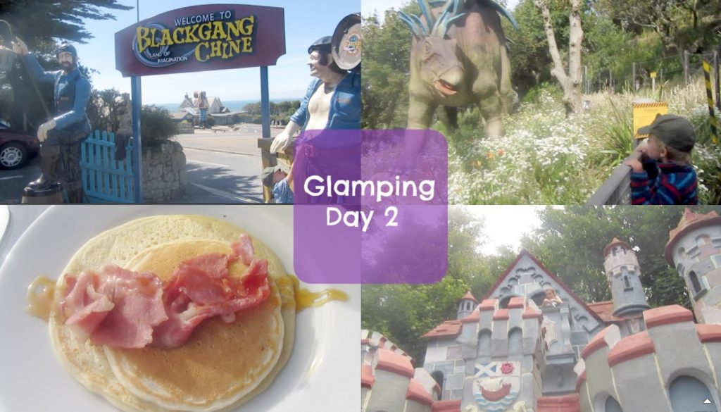 Glamping on the Isle of Wight day 2