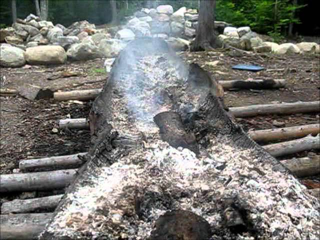 1. Crafting with Fire – The Dugout Canoe Project 1 of 2