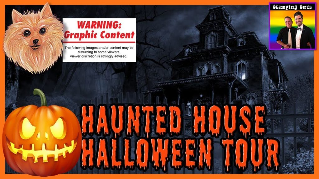 "The Glamping ""Grindhouse"" Guys – Friday the 13th Happy Halloween Special – Haunted House Tour Parody"
