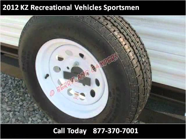 2012 KZ Recreational Vehicles Sportsmen New Cars Ponchatoula