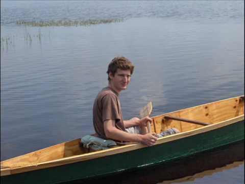 Homemade Plywood Canoe 'River Drifter'