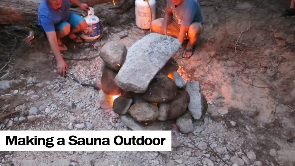 How to build a Sauna Outdoor