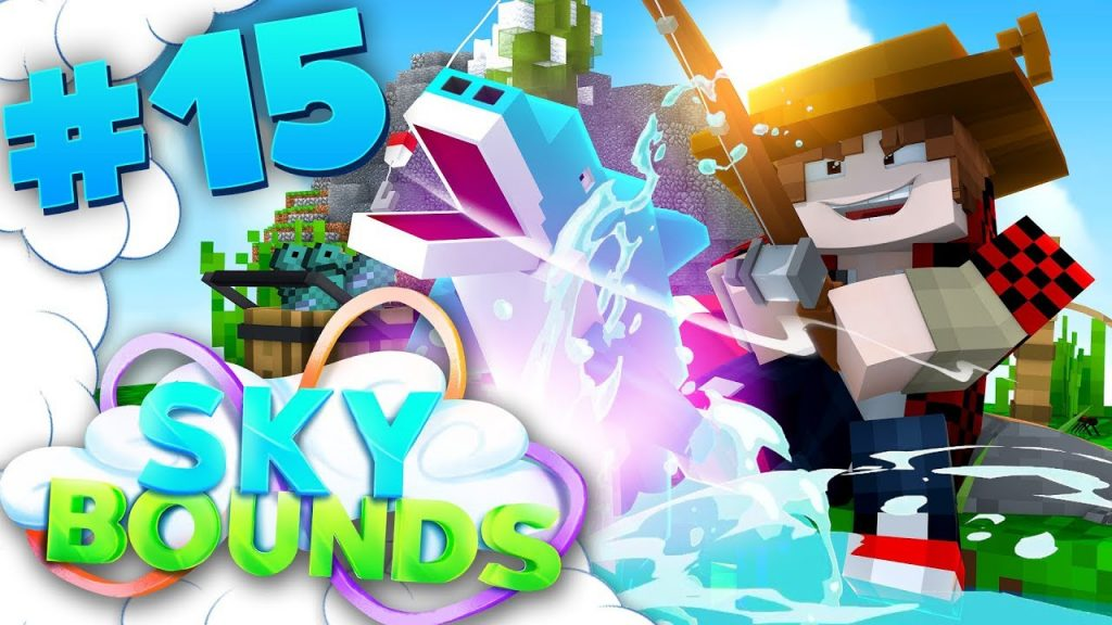 NEW FISHING! | SKYBOUNDS ISLAND #15 (Minecraft SkyBlock SMP)