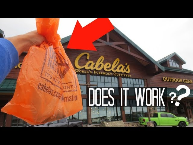The Craziest Fishing Lure in Cabelas!! (Does it work?)