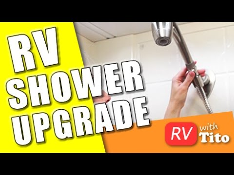 How To Get More Water Pressure In Your RV Shower – Oxygenics Shower Install