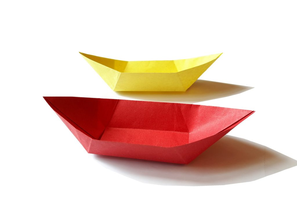 How to make a paper Boat Canoe?