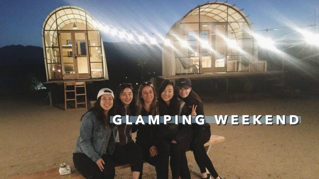 🏕️ Girls' Glamping Trip | Happy Birthday, Megan 🎉