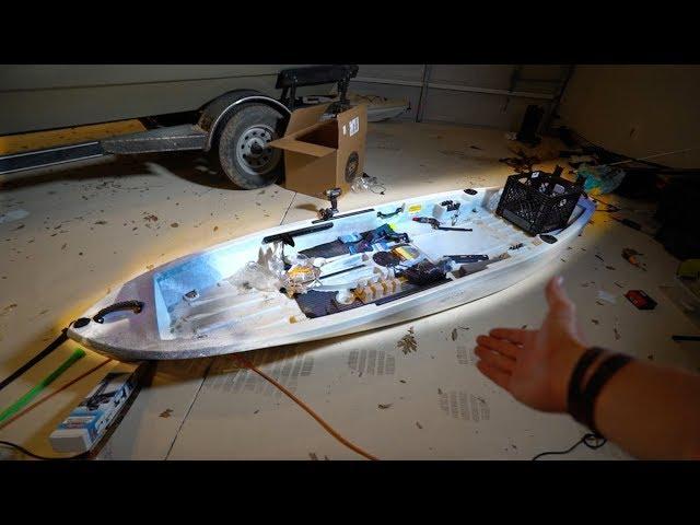 Customizing My KAYAK — The Ultimate Fishing Kayak Project
