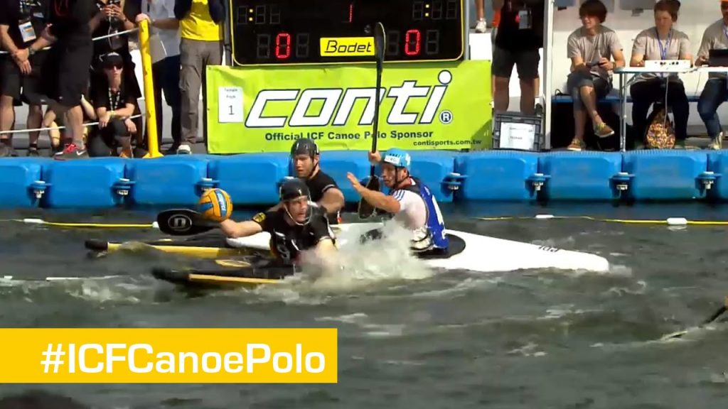 Men Gold Match- Germany vs France | Canoe Polo World Championships 2014