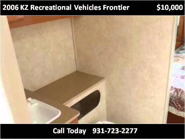 2006 KZ Recreational Vehicles Frontier Used Cars Manchester