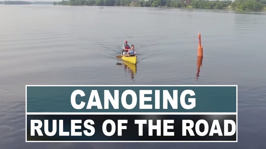 Canoeing in High Traffic Areas | Rules of the Road
