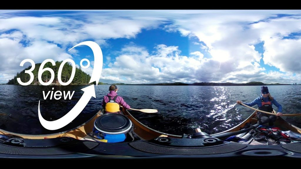 BIG ALGONQUIN CANOE TRIP – 360° VR VIDEO – DAY 7 – BREAKFAST ON HAPPY ISLE & CANOEING OPEONGO! (4K)