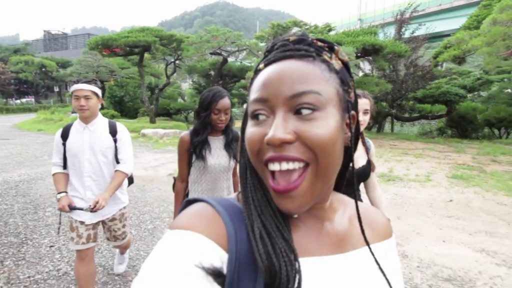 My friends came to Korea!! || Caravan Glamping|| Water rafting