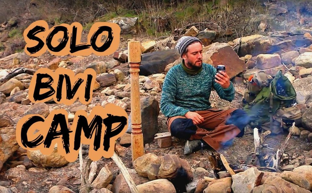 Solo Wild Camp Under The Stars | Bivi Bag No Tarp