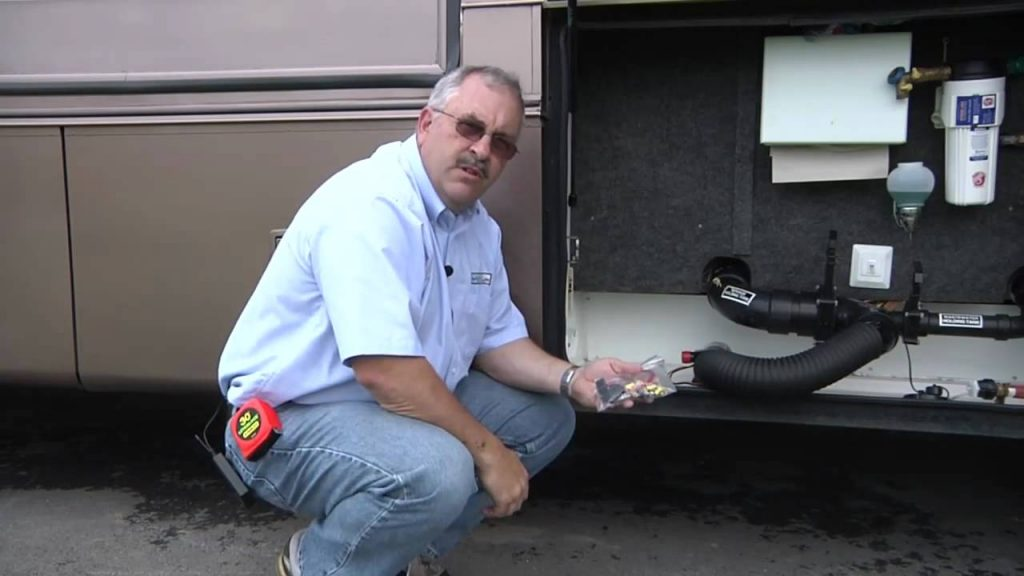 Clean Dump RV Macerator system Installation Video