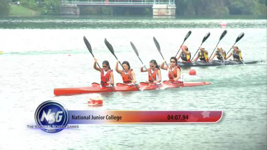 NSG 2016 with National School Canoeing Championships 2016