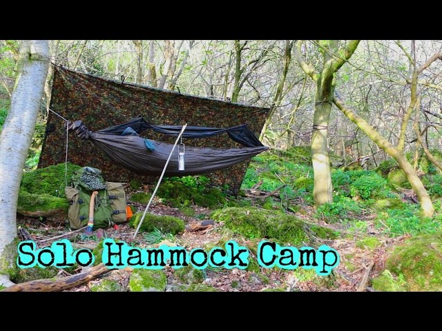 SOLO HAMMOCK CAMPING | LOOKING AT NEW KIT | ALE REVIEW