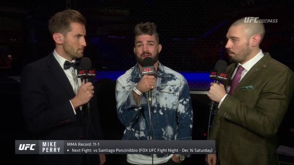 Fight Night Gdansk – Mike Perry: 'Till Went Fishing For Bass and Caught a Shark'