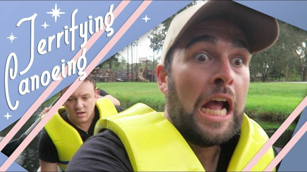 Terrifying Canoeing! | Walt Disney World Vlog | Fort Wilderness | October 2017 | Adam Hattan