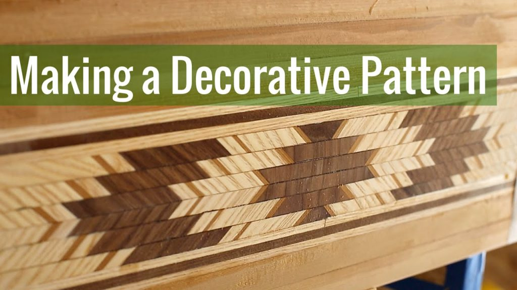 Making a Decorative Pattern (Ep 5 – Cedar Strip Canoe Build)