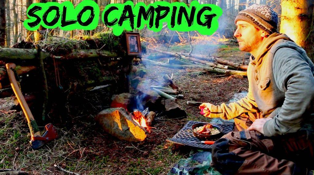 Solo Wild Camp | Hammock On The Floor