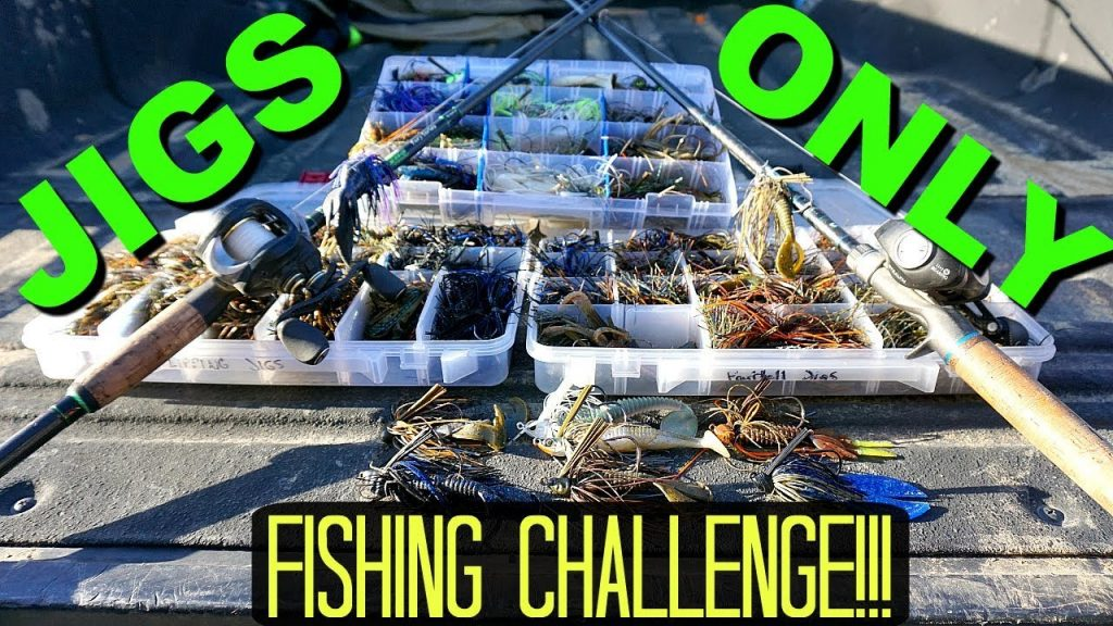 Jigs ONLY Bass Fishing CHALLENGE!!!
