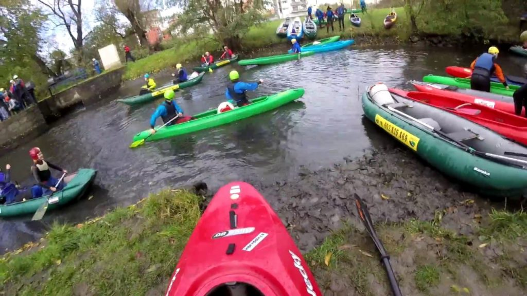 Botič / Rio Botičo 2017 Prague Urban Canoeing!